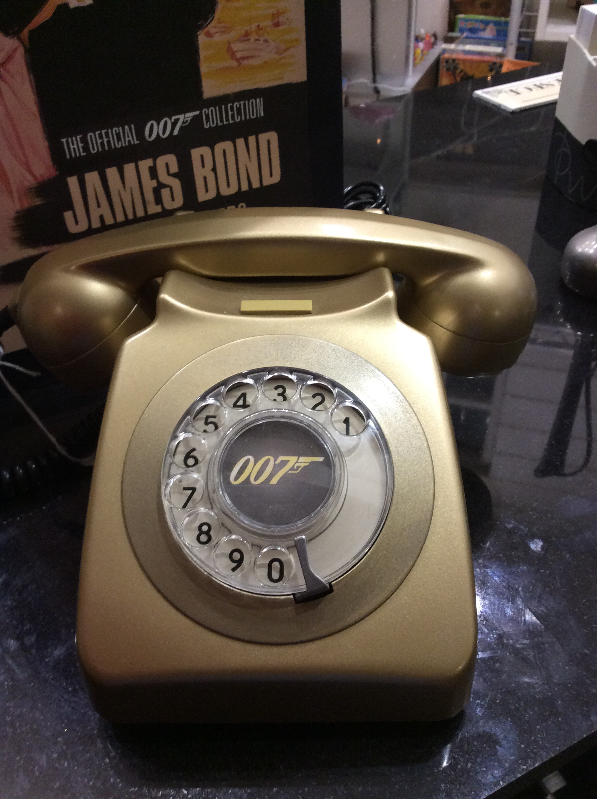 Telephone Of The Week – An Amazing James Bond Inspired 007